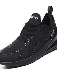 hesapli -Erkek Ayakkabı PU Kış Sportif Atletik Ayakkabılar Koşu Atletik için Siyah / Koyu Mavi / Yeşil / Zıt Renkli