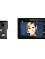 Недорогие -7inch беспроводной / проводной wifi ip видео домофон домофон домофон с поддержкой удаленного приложения unlockrecordingsnapshot
