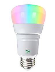Недорогие -YWXLIGHT® 1шт 7 W 600-700 lm E26 / E27 Круглые LED лампы / Умная LED лампа 14 Светодиодные бусины SMD 5730 Smart / Контроль APP / Диммируемая RGBW / RGBWW 85-265 V