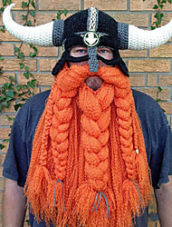 Недорогие -Пираты Викинг Шапки Муж. Жен. Косплей из фильмов Оранжевый Шапки Хэллоуин Карнавал Маскарад Хлопок
