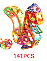 Недорогие -Магнитные плитки 141 pcs Геометрический узор Все Игрушки Подарок