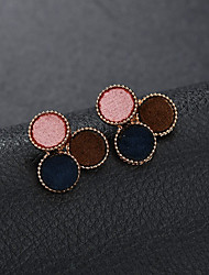 economico -Per donna geometrico Orecchini a bottone - Alla moda Gioielli Arcobaleno Per La laurea Strada / 1 paio