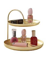 abordables -Rangements de maquillage / Rangement Ressort Durable / Rangement / Multifonction Antique / Basique / Néoclassique Métal 1 set - Accessoires / Nettoyage organisation de bain / Salle de bain