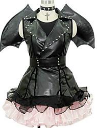 זול -קיבל השראה מ קוספליי קוספליי אנימה תחפושות קוספליי חליפות קוספליי עיצוב מיוחד שמלה / כפפות / כנפיים עבור בגדי ריקוד גברים / בגדי ריקוד נשים