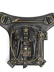 Недорогие -Стимпанк талия нога кожаная сумка бедра кобура кошелек винтажный мешок ремень панк локомотив сумка