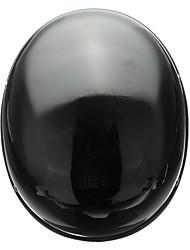 Недорогие -черный винтаж безопасность половина шлем мотоцикл велосипед крейсер открытая крышка