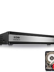 Недорогие -Zosi® HD 1080P 16-канальный видеорегистратор видеонаблюдения видеорегистратор H.264 P2P видеорегистратор видеорегистратор управления телефоном для системы безопасности камеры видеонаблюдения