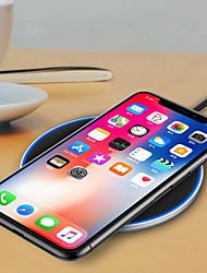 billiga Telefoner och Tabletter Laddare-Trådlös laddare USB-laddare USB Trådlös laddare / Qi 1 USB-port 1.2 A DC 9V / DC 5V för iPhone X / iPhone 8 Plus / iPhone 8