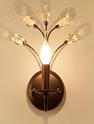 economico -Creativo Paese Lampade da parete Camera da letto / Al Coperto Metallo Luce a muro 220-240V 40 W