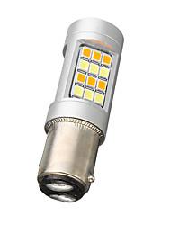 Недорогие -1 шт. BAY15D(1164) Автомобиль Лампы 20 W SMD 2835 600 lm 42 Светодиодная лампа Лампа поворотного сигнала / Тормозные огни Назначение Универсальный Все года