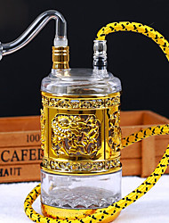 Недорогие -Кальян Стекло Традиционный Простой Табак и масло