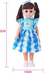 baratos -Boneca de moda Boneca jogada na bola Bebês Meninas 18 polegada Silicone - Smart realista Crianças / Adolescente de Criança Unisexo Brinquedos Dom
