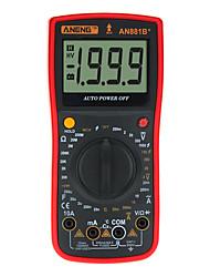 Недорогие -цифровой мультиметр переменного тока aneng an881b напряжение тока ток емкость сопротивление сопротивление диод триод тестер