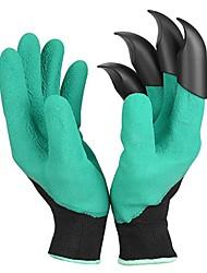 Недорогие -1 пара садовых перчаток с когтями для копания грязи земляные защитные перчатки