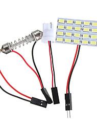 Недорогие -t10 ba9s dc12v 5730/5630 24smd светодиодная панель управления интерьером автомобиля купольные светильники для чтения гирлянды