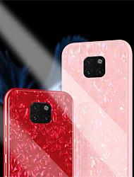 povoljno -Θήκη Za Huawei Huawei Mate 20 Pro / Huawei Mate 20 Zrcalo Stražnja maska Jednobojni Tvrdo Kaljeno staklo za Huawei Mate 20 lite / Huawei Mate 20 pro / Huawei Mate 20