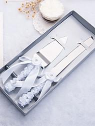 Недорогие -Металл Свадьба / День рождения Подарочная коробка Столовые приборы