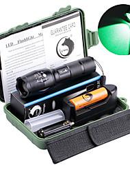 Недорогие -UltraFire Светодиодные фонари Светодиодная лампа LED излучатели 2000 lm 5 Режим освещения с батареей и зарядным устройством Масштабируемые Фокусировка