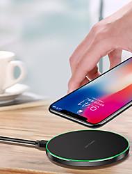 Недорогие -Беспроводное зарядное устройство Зарядное устройство USB USB Беспроводное зарядное устройство / Qi 1 USB порт 1.5 A DC 9V / DC 5V для iPhone X / iPhone 8 Pluss / iPhone 8