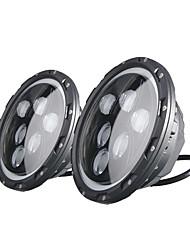 Недорогие -Factory OEM 2pcs H13 / H4 Автомобиль Лампы 60 W 2400 lm 6 Светодиодная лампа Налобный фонарь Назначение Jeep / Hummer Wrangler 2001 / 2002 / 2003