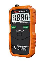 Недорогие -Пиковый измеритель PM6501 Профессиональный ЖК-дисплей Цифровой термометр типа K термометр с термопарой