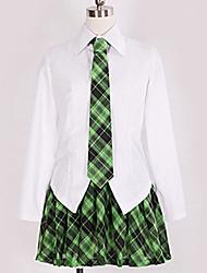 Недорогие -Вдохновлен Косплей Косплей Аниме Косплэй костюмы Японский Косплей Костюмы Английский Блузка / Кофты / Юбки Назначение Муж. / Жен.