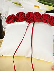 Недорогие -Шелковый Как атласные Цветы из сатина Атлас Кольцо подушки колец Свадьба Все сезоны