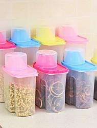 Недорогие -Кухонная организация Бутылки и емкости для хранения / Хранение сыпучих продуктов Пластик Аксессуар для хранения 1шт