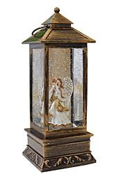 Недорогие -1 шт. Светодиодный труба ангел ночной свет теплое белое рождество новый год украшения а.