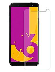 Недорогие -Samsung GalaxyScreen ProtectorJ6 Уровень защиты 9H Защитная пленка для экрана 1 ед. Закаленное стекло