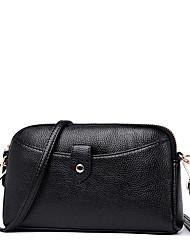 cheap -Women's Bags PU(Polyurethane) Shoulder Bag Zipper Red / Purple / Dark Grey