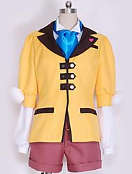 baratos -Inspirado por Fantasias Fantasias Anime Fantasias de Cosplay Ternos de Cosplay Design Especial Casaco / Blusa / Calções Para Homens / Mulheres