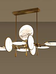 halpa -ZHISHU 9-Light Geometrinen / Erikois Kattokruunu Tunnelmavalo Maalatut maalit Metalli Lasi Luova, Uusi malli 110-120V / 220-240V