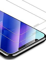 Недорогие -AppleScreen ProtectoriPhone XS HD Защитная пленка для экрана 2 штs Закаленное стекло