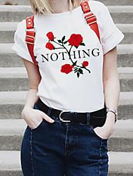povoljno -Majica s rukavima Žene - Osnovni Dnevno Jednobojni / Geometrijski oblici