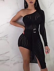 cheap Party Dresses-Women  039 s Party   Club Basic Sheath Dress - 9ecc1af05