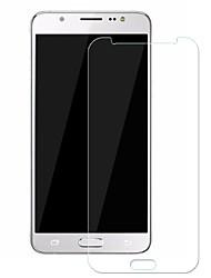 Недорогие -Samsung GalaxyScreen ProtectorJ5 (2016) Уровень защиты 9H Защитная пленка для экрана 1 ед. Закаленное стекло