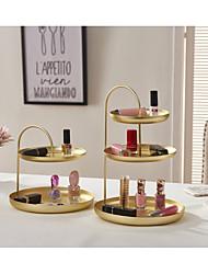abordables -Rangements de maquillage Rangement / Multifonction / Facile à Utiliser Moderne / Antique / Basique Métal 2pcs - Accessoires / Nettoyage organisation de bain / Salle de bain