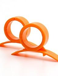 billiga -6pcs Köksredskap PP (Polypropen) Miljövänlig Ergonomisk design Lätt att bära Specialverktyg Skärverktyg Kök & Ätande för frukt Originella köksredskap Orange