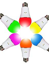 Недорогие -EXUP® 1шт 9 W 800 lm E26 / E27 Умная LED лампа A60(A19) 23 Светодиодные бусины SMD 5730 Smart / Контроль APP / синхронизация RGBW 85-265 V