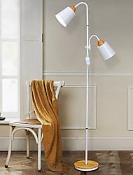 Недорогие -ywxlight® 1 шт. 9 Вт домашнего освещения украшения дома творческий простой металл твердой древесины шить кнопка переключатель торшер теплый белый переменного тока 85-265 В