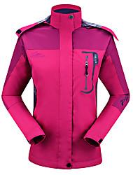 Недорогие -Муж. Жен. Худи и толстовка Куртка для туризма и прогулок на открытом воздухе Осень Весна Зима С защитой от ветра Дожденепроницаемый Воздухопроницаемость Впитывает пот и влагу 100