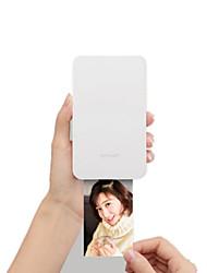 Недорогие -xiaomi mijia xprint dmp100 смартфон bluetooth-принтер домашняя фотография ноль чернил 300 точек на дюйм