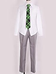 Недорогие -Вдохновлен Косплей Косплей Аниме Косплэй костюмы Японский Косплей Костюмы Английский Блузка / Кофты / Брюки Назначение Муж. / Жен.