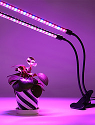Χαμηλού Κόστους -1pc 20 W 200 lm 60 LED χάντρες Με ροοστάτη Τρίχρωμη σημαία Καλλιέργεια φωτισμού Κόκκινο Μπλε Μωβ 110-240 V
