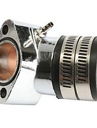 Недорогие -1 шт. 45 mm Советы по выхлопной трубе мотоцикла / Автомобильные выхлопные системы изогнутый Алюминий Глушители выхлопа Назначение Мотоциклы 750 / CC Все года