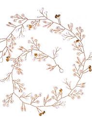 Недорогие -Жен. европейский Резинка - Цветы Однотонный