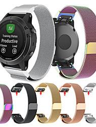Недорогие -Ремешок для часов для Fenix 3 HR / Fenix 3 Sapphire / Fenix 3 Garmin Миланский ремешок Нержавеющая сталь Повязка на запястье
