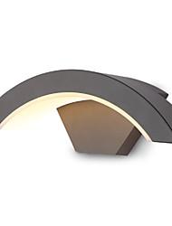 povoljno -Cool Suvremena suvremena Zidne svjetiljke Hodnik Metal zidna svjetiljka 220-240V