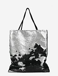 preiswerte -Damen Taschen PU Tragetasche Glitzer Gold / Silber
